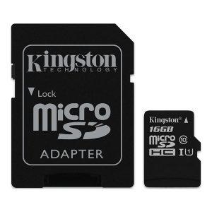 Tarjeta microSD Kingston 16GB